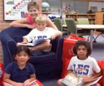 Eager-To-Read Students Ready to Turn Pages of New Books