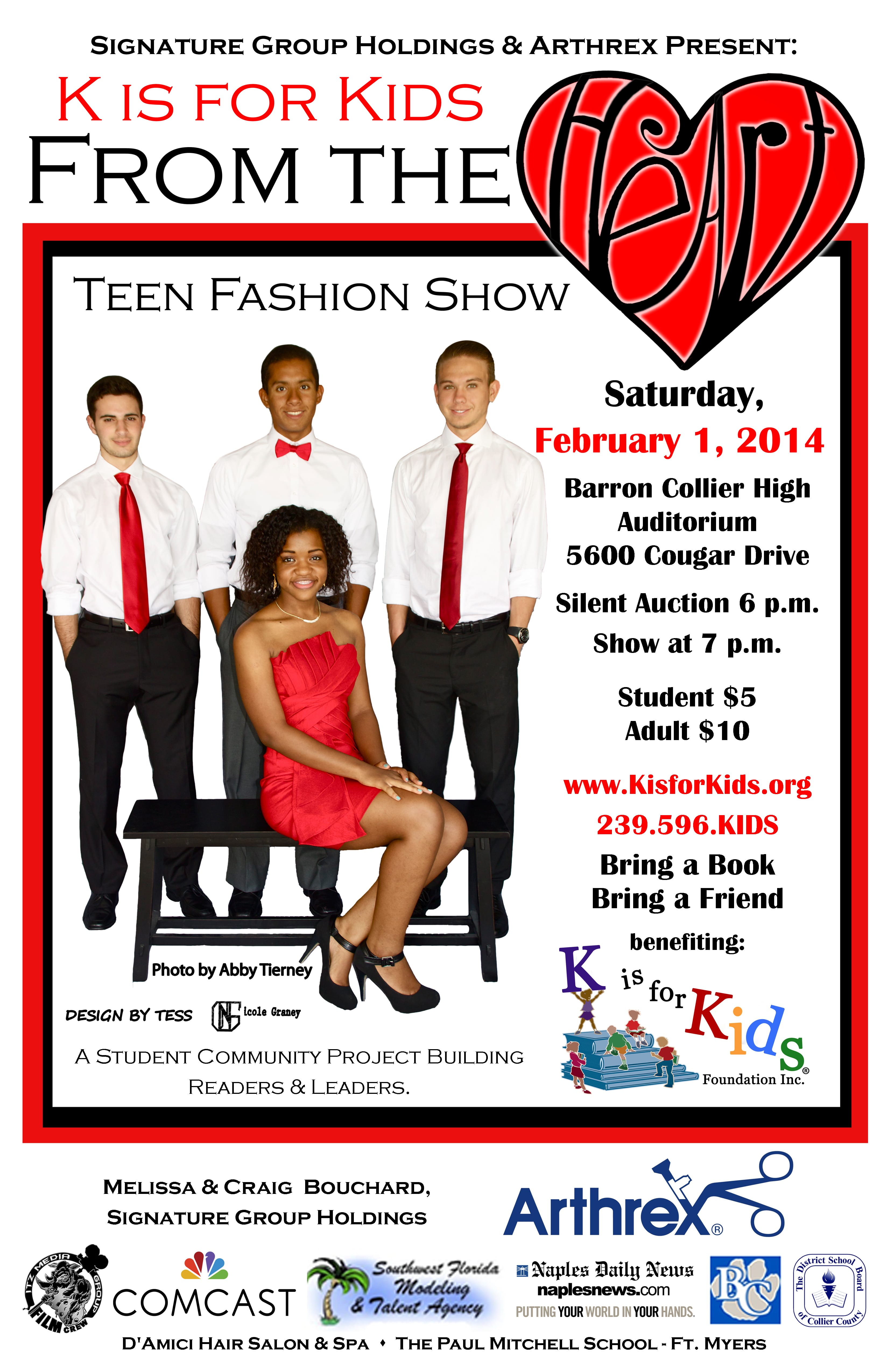 Prom fashion show poster