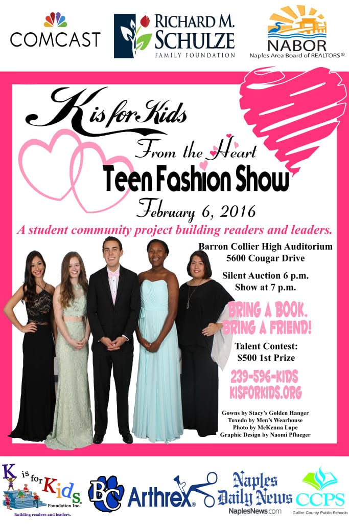 2016 Teen Fashion Show POSTER