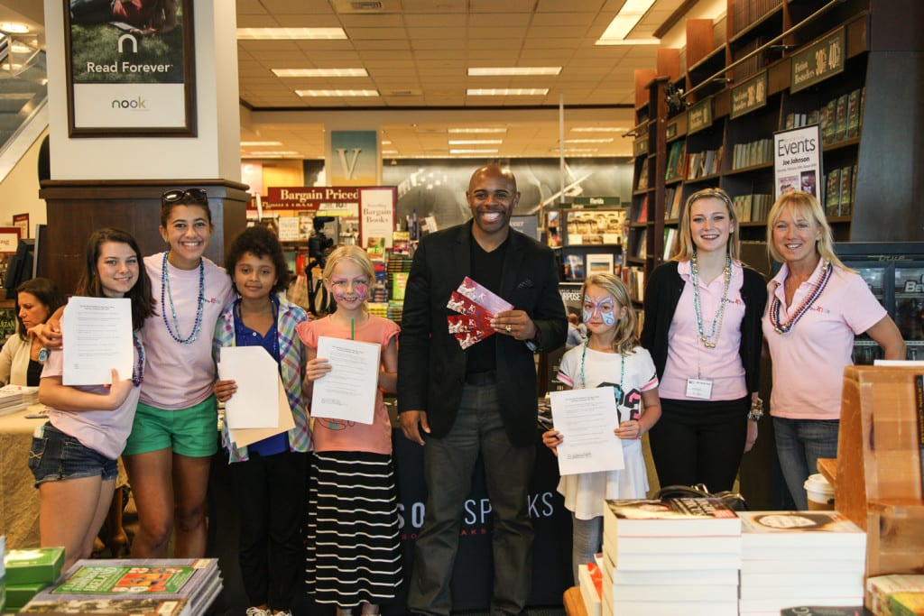 Author Joe Johsnon Joins Students at 7th Annual K is for Kids Book Fair
