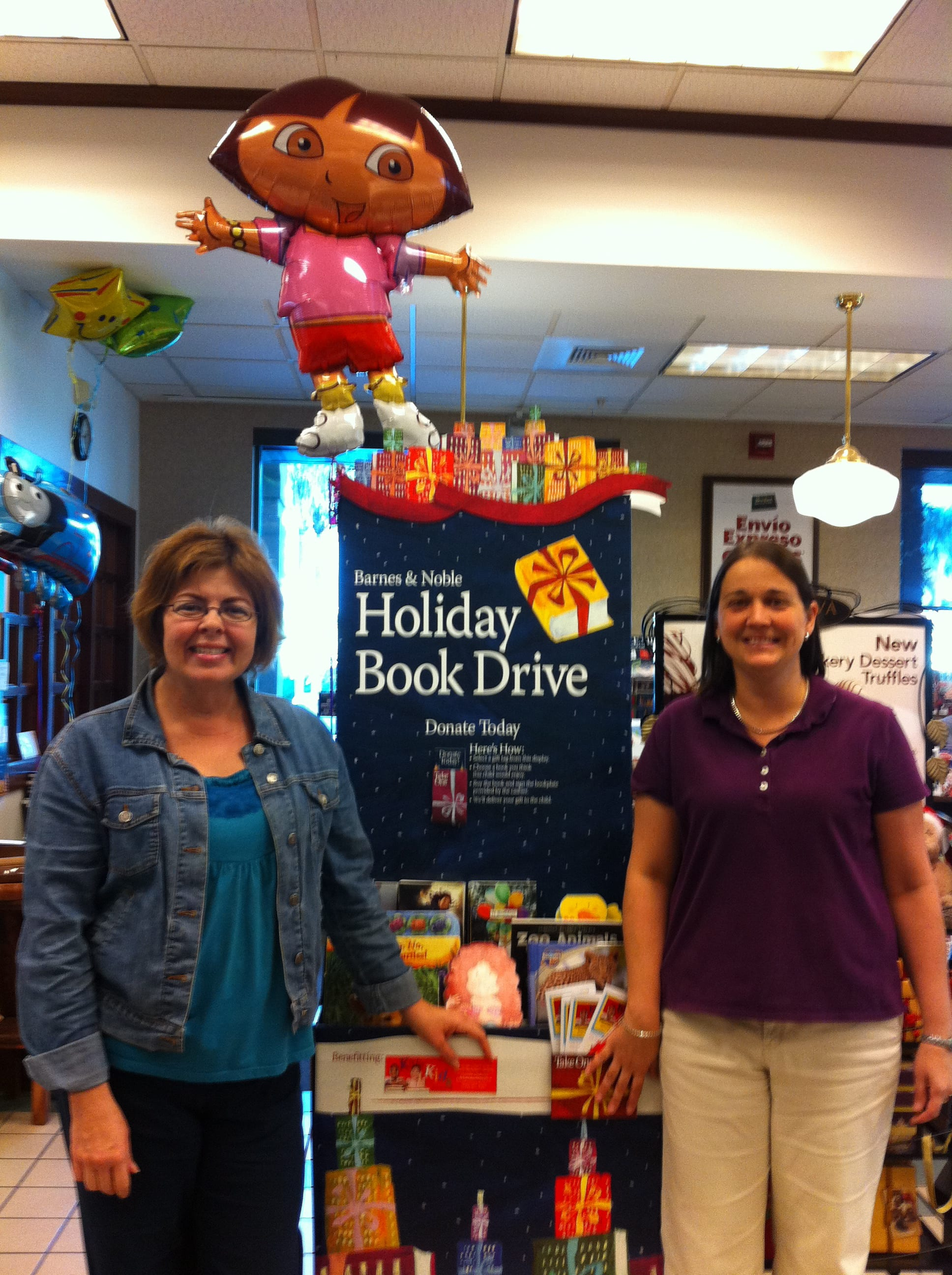 Holiday Book Drive Begins at Barnes Noble Booksellers Waterside