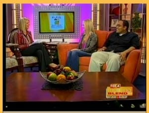 MorningBlend_1_TVInterview_ScreenShot_KarenClawson_BrandonVelez_Jan302010