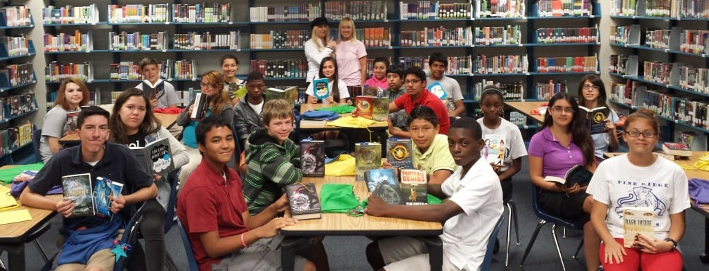 PRMS - PHOTO - Group FAVE - Book Awards Students Seated 2014 FAVE 1 copy