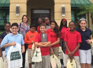 GTES students have field trip to Barnes Noble - K is for Kids Top Reader Book Awards 2015