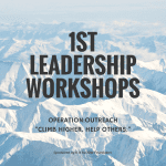 1ST LEADERSHIP WORKSHOPS
