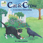 Cat and Crow by Lisa Flemin
