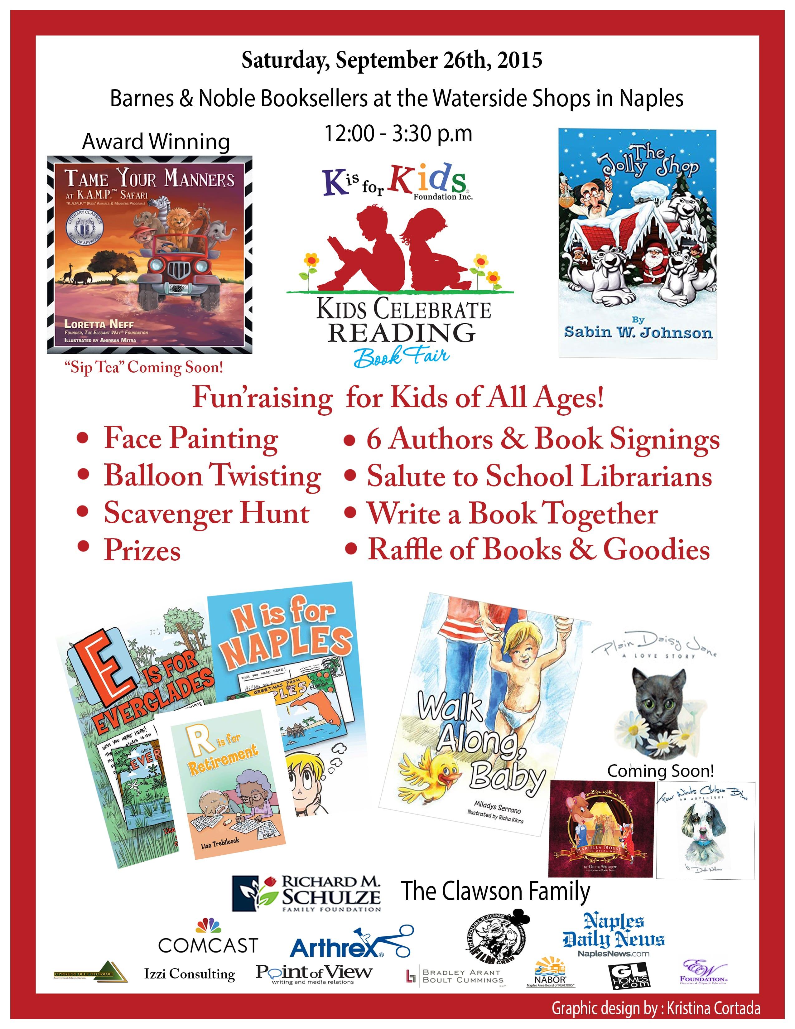 k is for kids u0027 student leaders launch reading program for children