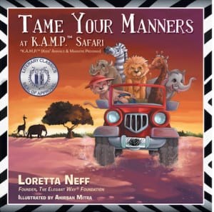 Author Loretta Neff - Tame Your Manners book copy