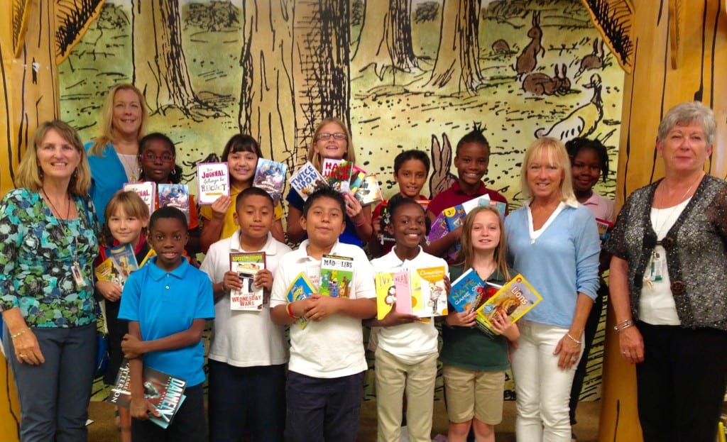 AES Top Readers Field Trip - Top Reades Book Awards 2015 - crop
