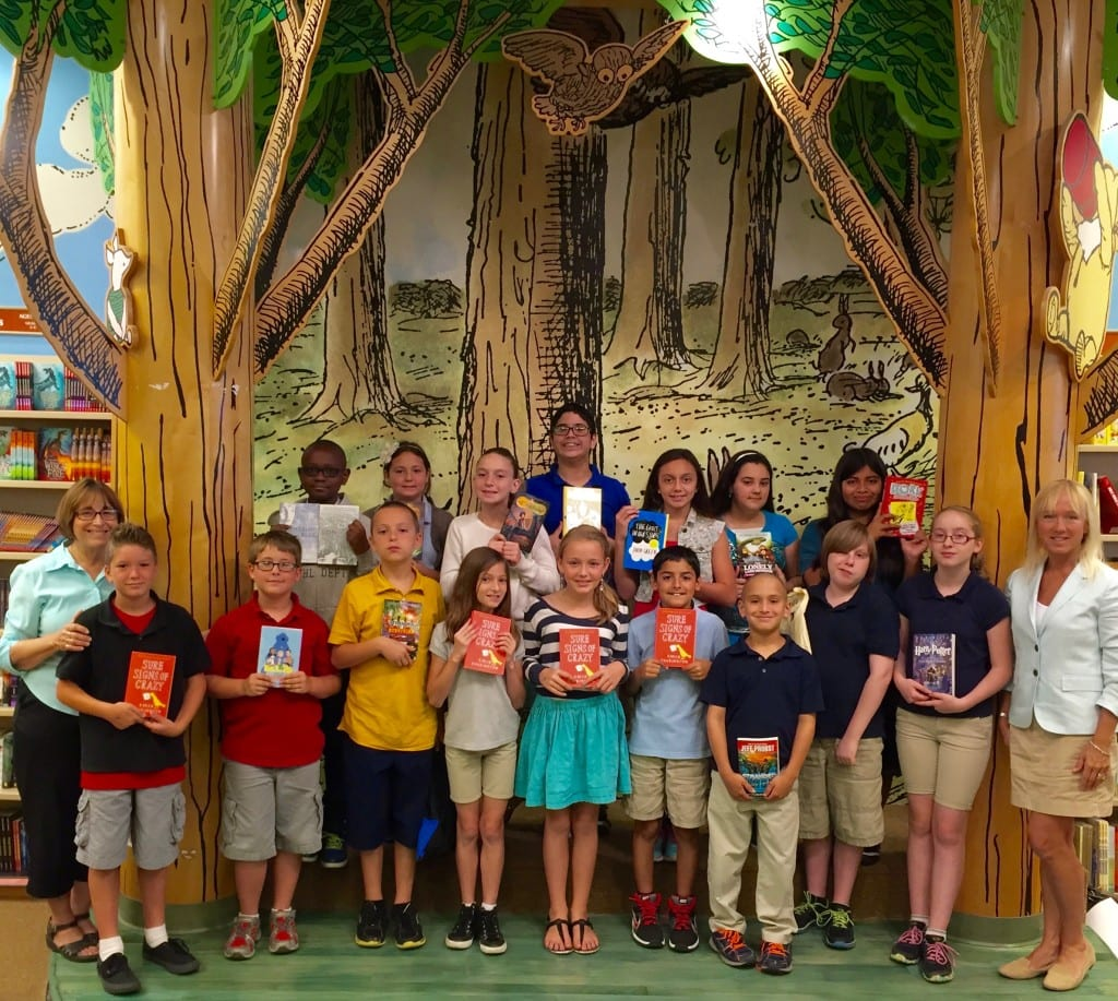 EES Top Reader Book Awards 2015 - B&N group - 1