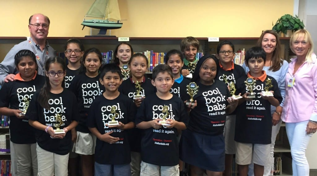 GGES Top Reader Book Awards 2015 - 1