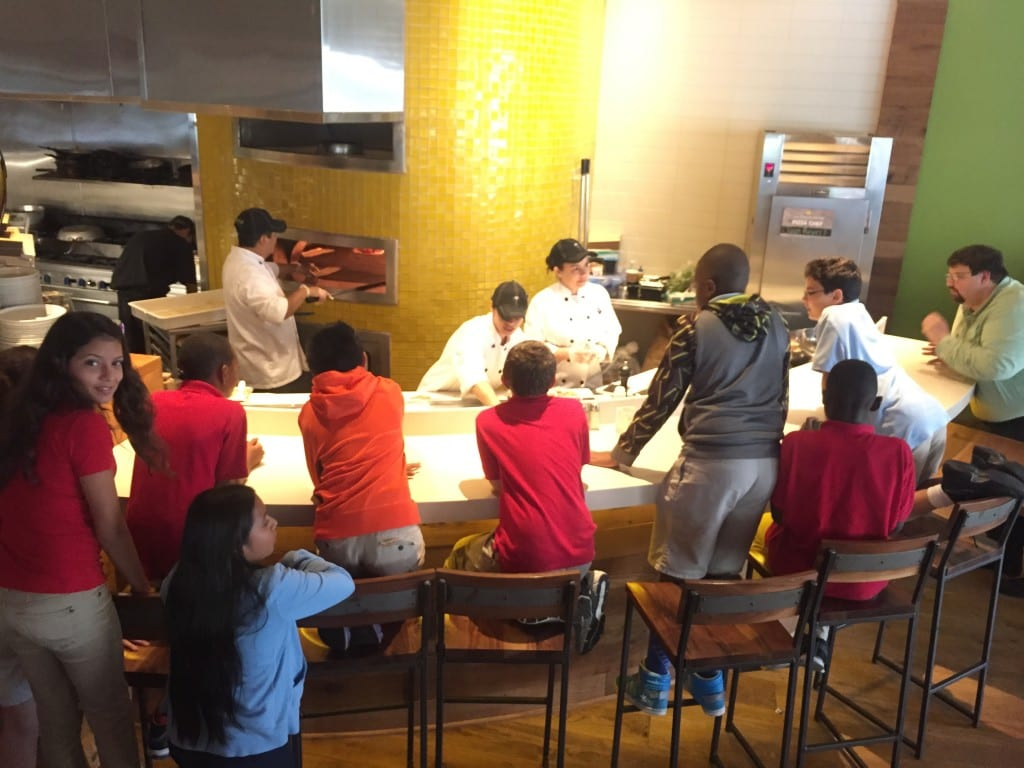 GTES-Intermed - Top Readers 2015 - Demo on Pizza Making