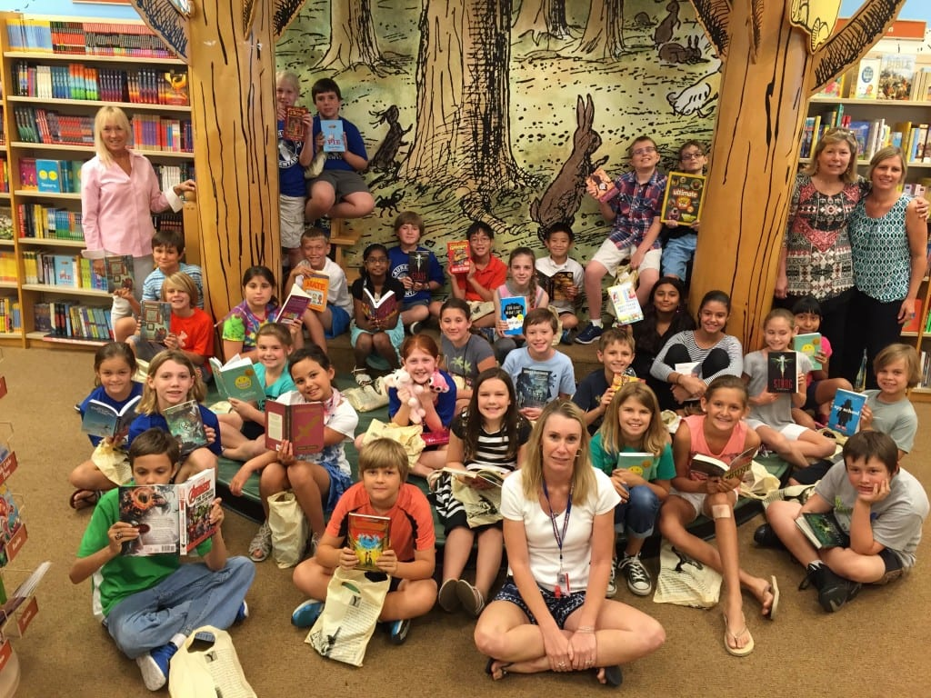 LOES Top Reader Book Awards 2015 - 1