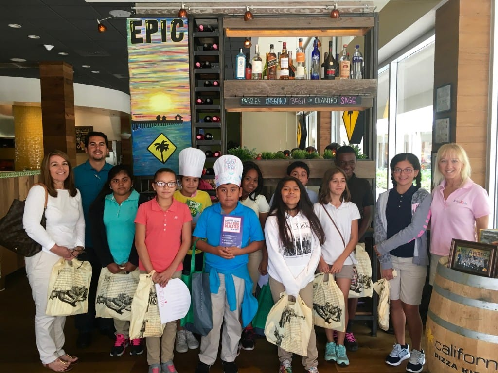 3 GGES Top Reader Book Awards - CPK at entrance