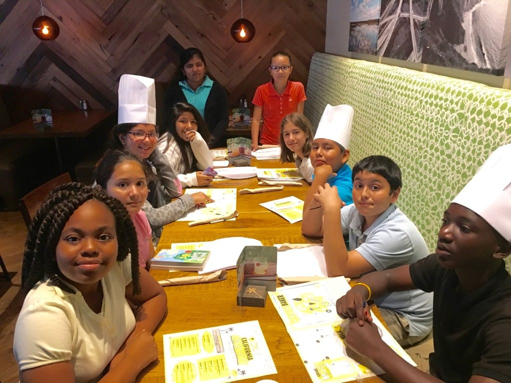 4 GGES Top Reader Book Awards - CPK at table