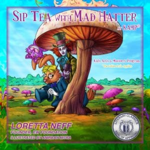 author-loretta-neff-bookcover-sip-tea-with-the-mad-hatter
