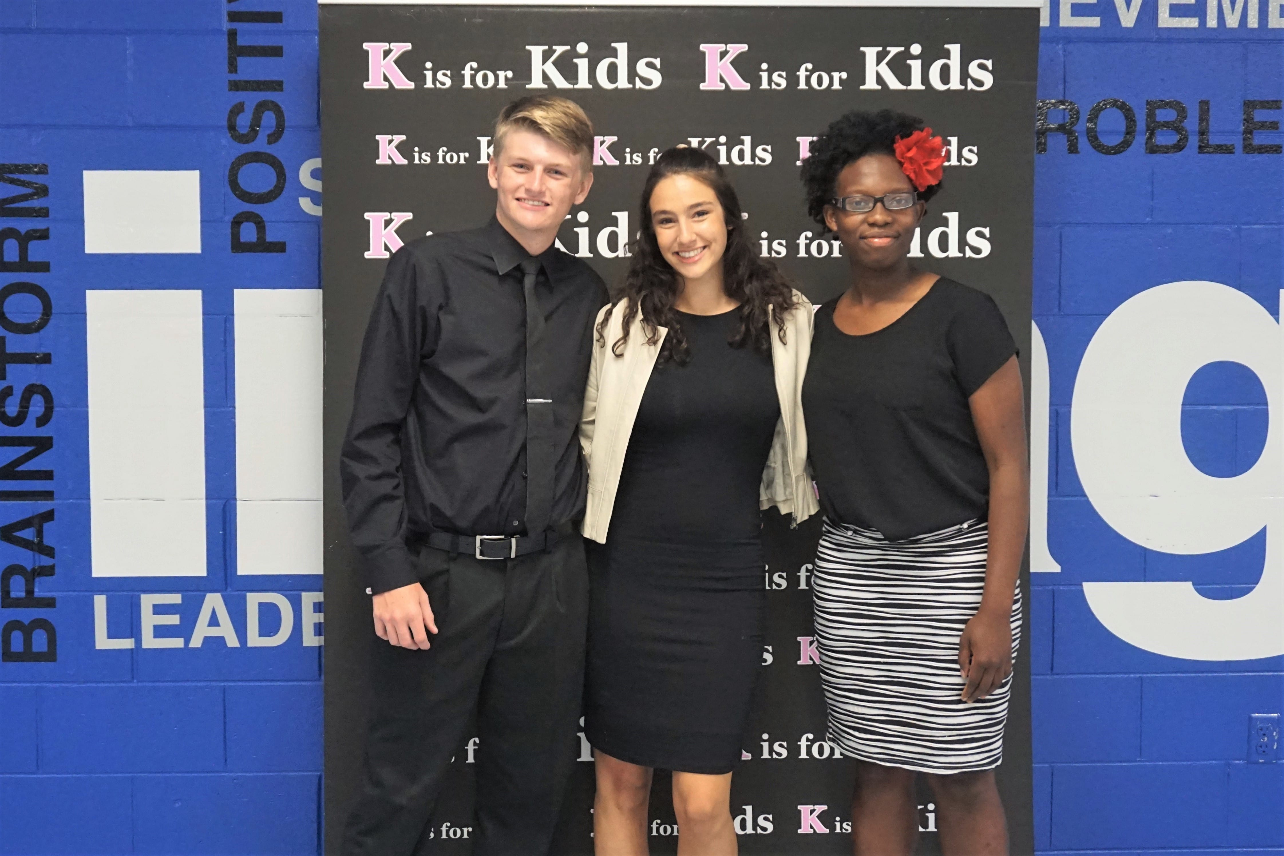 Three Lely students tackle opioid addiction to win K is for Kids